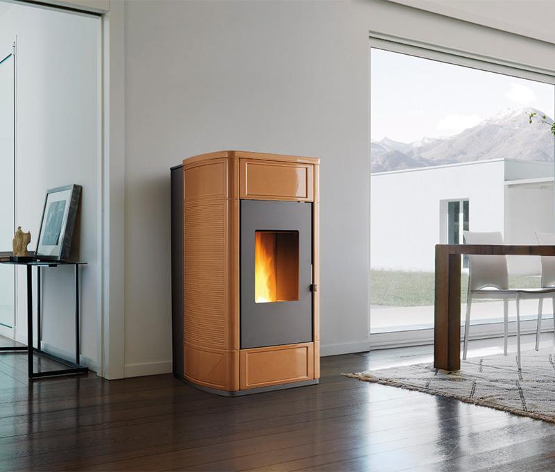 Una vera caldaia in salotto - Stufe a pellet da collegare ai termosifoni ...