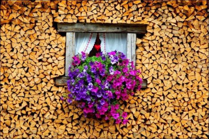 Come impilare la legna in modo artistico